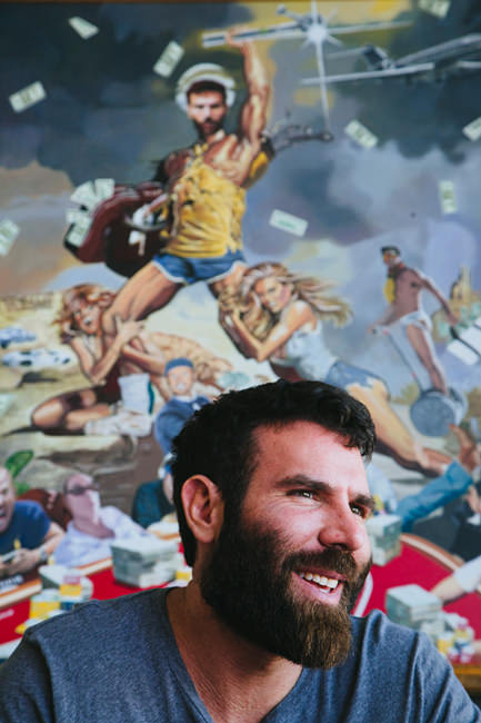 dan bilzerian for the wall street journal david walter banks photography. Black Bedroom Furniture Sets. Home Design Ideas
