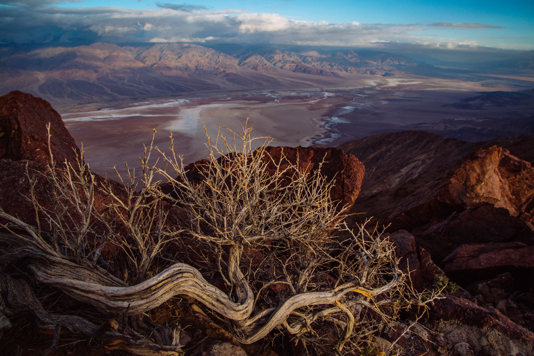 A view from Dante's View in Death Valley National Park, on Friday, May 8, 2015.