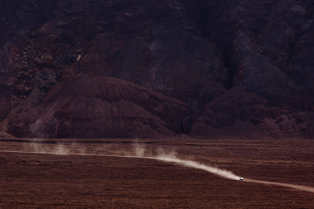 A view from the road in Death Valley National Park, on Friday, May 8, 2015.